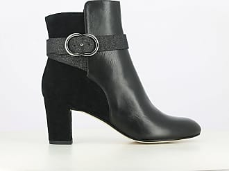 b49c368ee72 Jonak Boots cuir à talon Darissa Exclusivité La Redoute - JONAK - Noir