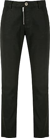 Uma Calça Malasia de sarja - Preto