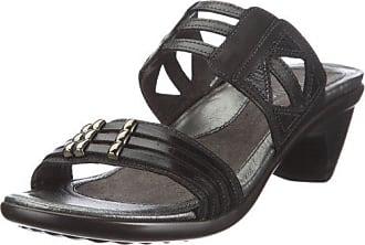 Naot Naot Womens Afrodita Dress Sandal,Jet Black Leather/Black Gloss Leather/Black Pearl Leather,35 EU/4 M US