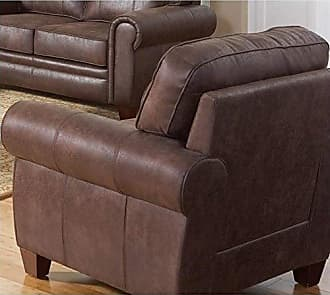 Coaster Fine Furniture Allingham Chair with Microfiber Upholstery Brown