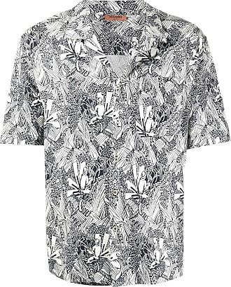 Missoni Camisa mangas curtas com estampa abstrata - Branco