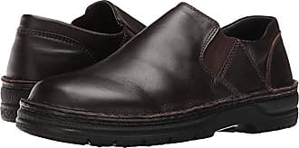 Naot Eiger (French Roast Leather) Mens Slip on Shoes