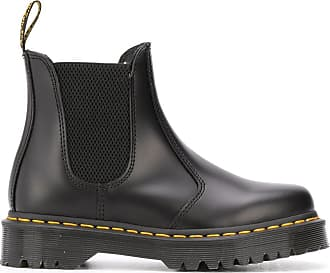 black doc marten chelsea boots