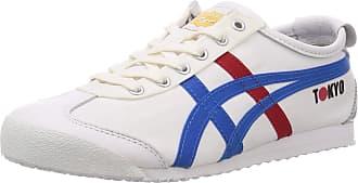 Onitsuka Tiger Mens 1183A730-100_41,5 Sneakers, Blanc Bleu Clair, 9 UK