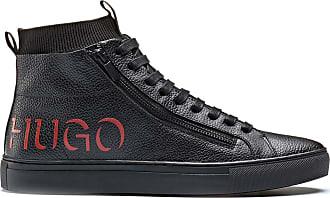 hugo boss high top trainers