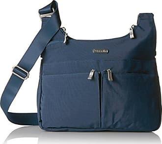 Baggallini Women Crossbody Bag, Lightweight, RFID-Blocking Wristlet, Pacific