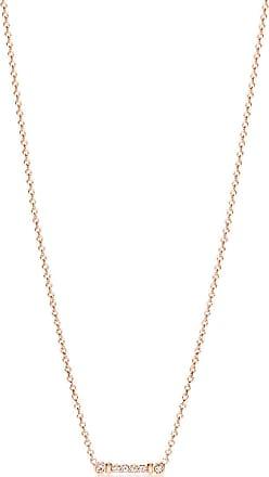 Tiffany & Co. Tiffany Fleur de Lis key bar pendant in 18k rose gold with diamonds