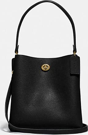 Coach Charlie Bucket Bag 21 in Black
