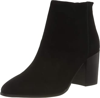 Steve Madden Womens Jamesie Bootie Ankle Boots, Black (Black Suede 015), 5 UK