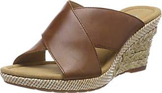 Gabor Comfort Sport, Sandales Bride Cheville Femme, Marron (Peanut Bast), 42 a98bea3cb0