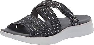 Dr. Scholls Womens Swear Sandal Black Fabric 7 M US