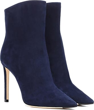 Jimmy Choo London Helaine 100 suede ankle boots