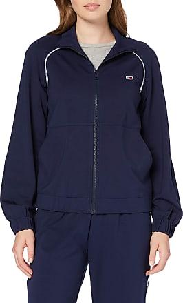 Tommy Jeans Womens Tjw Tracksuit Jacket Cardigan, Blue (Black Iris 002), Medium