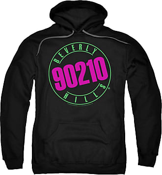 Popfunk 90210 Neon Unisex Adult Pull-Over Hoodie for Men and Women