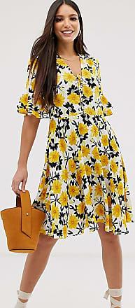 Y.A.S. Tall floral print tea dress-Multi