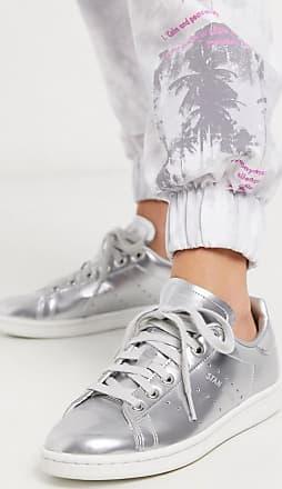 adidas Originals Stan Smith sneaker in silver