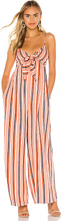BB Dakota Jack by BB Dakota Just My Stripe Jumpsuit in Pink