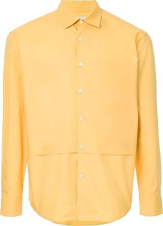 Cerruti layer detail shirt - Yellow