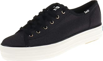 Keds WF57312 Womens Trainers Black Black Size: 4 UK