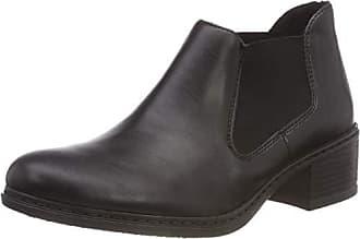 16cb71e9b8a5bb Rieker Damen 57690 Chelsea Boots Schwarz 00
