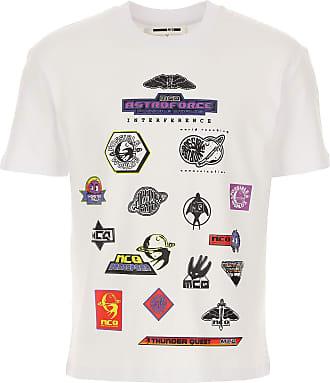 Alexander McQueen T-Shirts für Herren, TShirts Günstig im Outlet Sale, Weiss, Baumwolle, 2019, L M S XL