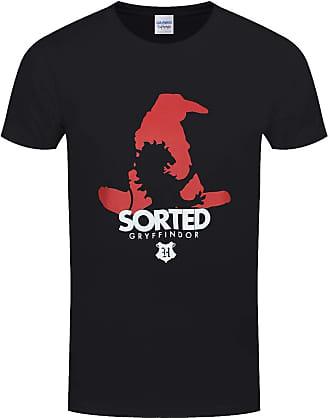 Harry Potter Mens Sorted Gryffindor Black T-Shirt