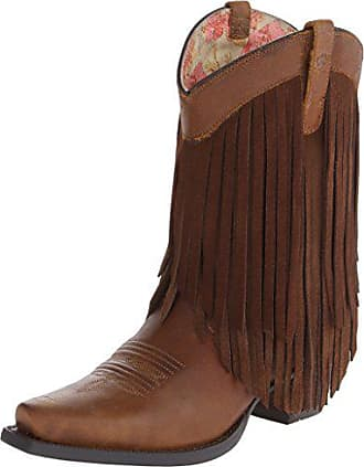 Ariat Ariat Womens Gold Rush Western Cowboy Boot, Terra Brown, 7.5 M US