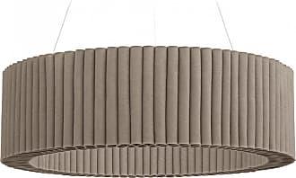 Hey-Sign Welle Deckenobjekt M Ø100cm - taupe/Filz in 3mm Stärke/höhenverstellbar/inkl. Aufhängevorrichtung