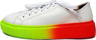Damannu Shoes Tênis Alanna Branco - Cor: Branco - Tamanho: 37