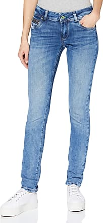 Pepe Jeans London Womens New Brooke Trouser, Blue (Wiser Wash Med Used 000), W29/L30
