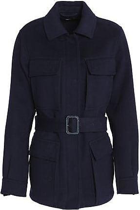 Joseph Joseph Woman Wool And Cashmere-blend Felt Jacket Navy Size 38
