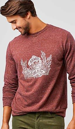 United By Blue Mens Go With The Flow Crew Pullover