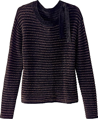 a9f4d4b9bffd84 La Redoute Collections Pullover mit Glanzstreifen - SCHWARZ;ROT - LA  REDOUTE COLLECTIONS