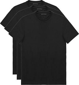 Prada three pack T-shirt - Preto