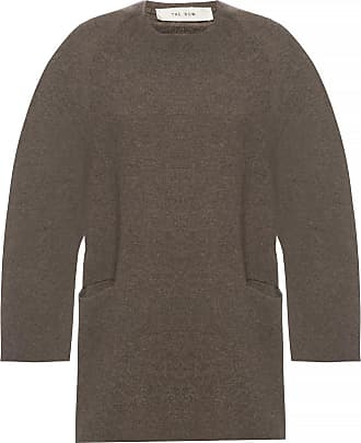 The Row Wool Sweater With Pockets Womens Brown