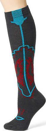 Ozone Design Womens Cowboy Boots Socks,Charcoal,9 - 11
