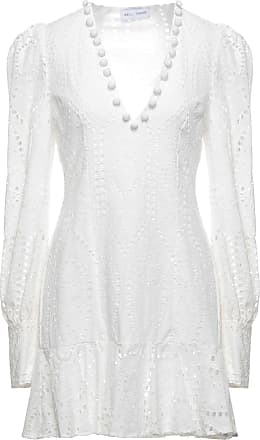 Kleider weiße kurze elegante Abendkleid Weiß