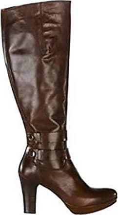 d89f65a6665595 Zinda Hochwertiger Stiefel aus Nappaleder Cognac Gr. 35