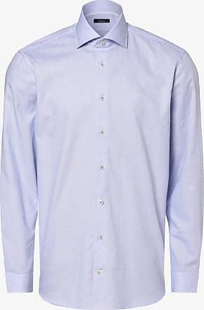 Van Laack Herren Hemd blau