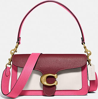 Coach Tabby Shoulder Bag 26 In Colorblock in Pink