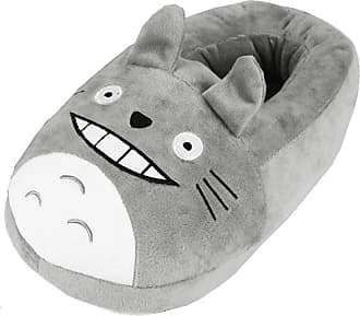 Cosstars My Neighbor Totoro Anime Cosplay House Slippers Furry Indoor Slip On Shoes for Women and Men 4