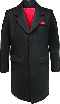 Relco New Gents Mod Coat/Overcoat With Red Lining 80% Wool Original 60s Style XXL
