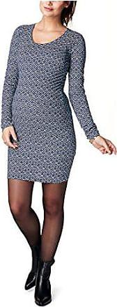 Noppies Umstandsmode Damen Kleid Gill Raffung an der Seitennaht Farbe C166 Navy