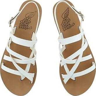 Ancient Greek Sandals Thea White