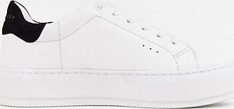 Kurt Geiger Laney - Sneaker mit schwarzem Besatz-Weiß