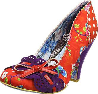 Irregular Choice Womens Make My Day Closed-Toe Heels, Red (Red Multi), 8 UK 42 EU