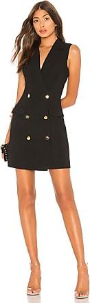 Superdown Patricia Blazer Dress in Black