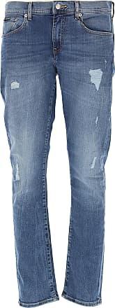 A X Armani Exchange Jeans On Sale in Outlet, Indigo Blue Denim, Cotton, 2019, 29 30 31 32 33 34 36