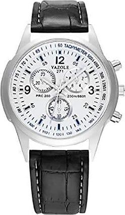 Yazole Relógios de pulso Pulseira de Couro YAZOLE W 271 (4)