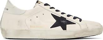 Goose exclusives bleu et marine blanches Golden SSENSE a Baskets Superstar L4Aqc53Rj